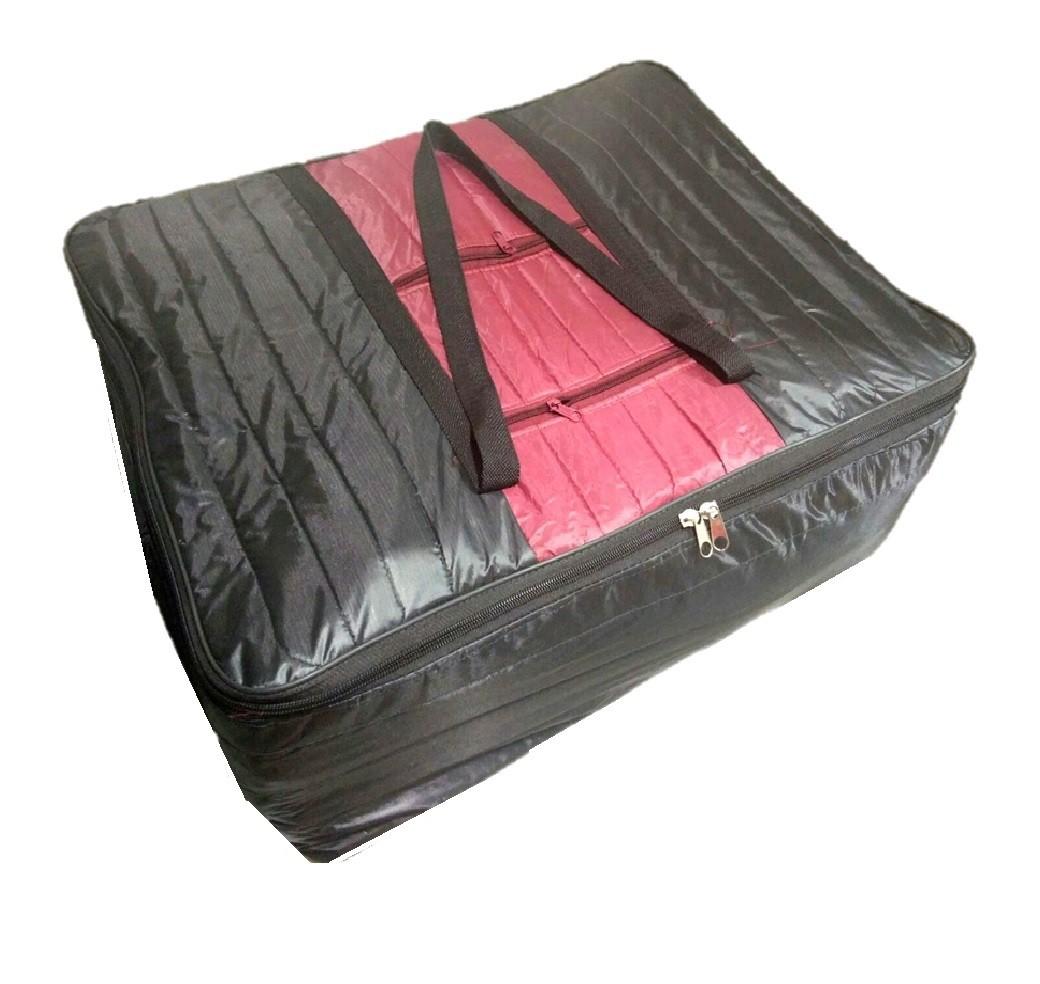 Addyz Nylon Extra Large Double Bed Blanket Cover Black